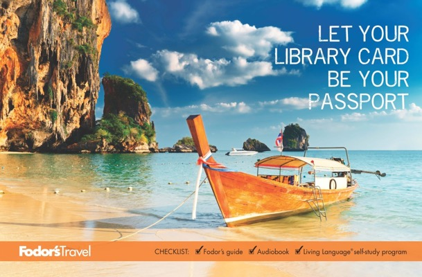 Free Let Your Library Card Be Your Passport Poster