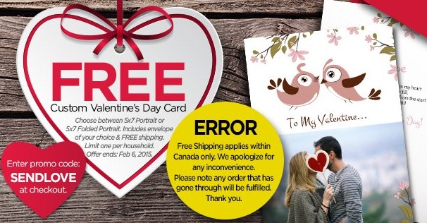 Free Personalized Valentine's Day Card From Kulapix (Free S/H)