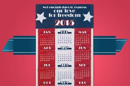 Free 2015 Magnetic Calendar