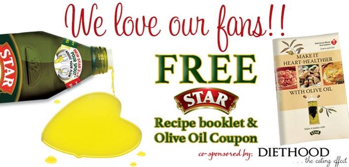 Free Star Recipe Booklet & Olive Oil Coupon