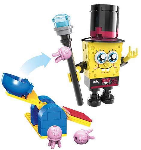 Free Mega Bloks SpongeBob SquarePants Jellyfish Launcher at Toys