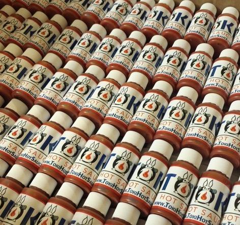 Free Toki Hot Sauce Sample
