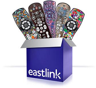 Free Custom Remote Skin for Eastlink Customers