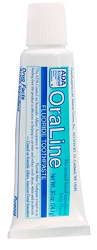Free OraLine Mint Toothpaste