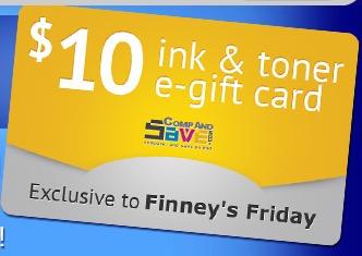 Free $10 CompAndSave eGift Card (1st 500)