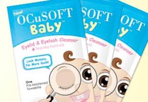 Free OCuSOFT Baby Eyelid & Eyelash Cleanser Sample