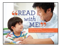 Free 2015 Read With Me! Calendar