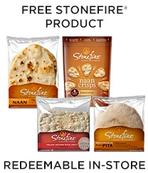 Free Stonefire Authentic Flatbreads Product (7/23 at 1pm ET)