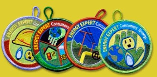 Free Energy Expert Patches for Girl and Cub Scouts (Michigan Only)