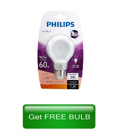 Free LED Bulb for Seattle City Light Customers