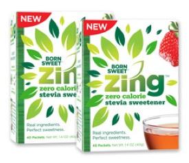 Free Zing Zero Calorie Stevia Sweetener (Apply, Mom Ambassadors)
