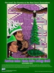 Free 2014 American Indian/Alaska Native Heritage Month Poster