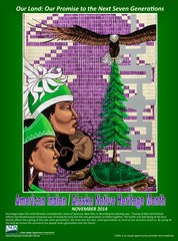 Free 2014 American Indian/Alaska Native Heritage Month Poster