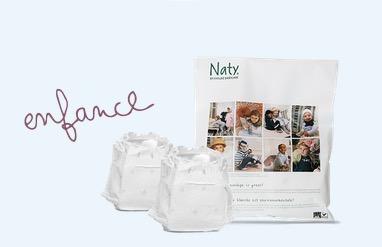 Free Sample Bag of Naty Eco Diapers
