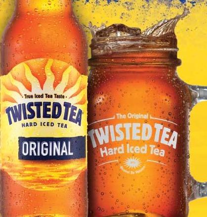 Free Twisted Tea Koozie (21+)