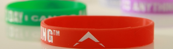 Free Today I Can Do Anything Wristband
