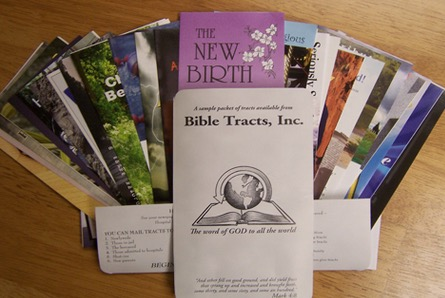 Free Gospel Tracts by Mail