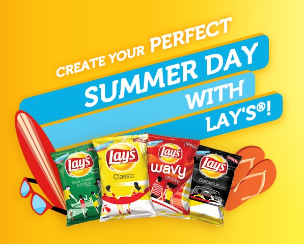 Free Personalized Bag of Lay's Chips