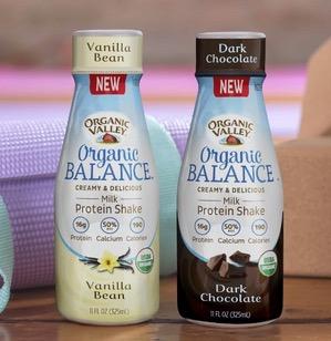 Free Bottle of Organic Valley Milk Protein Shake (1st 600, Instagram)