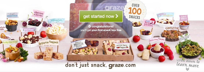 Free Graze.com Snack Box