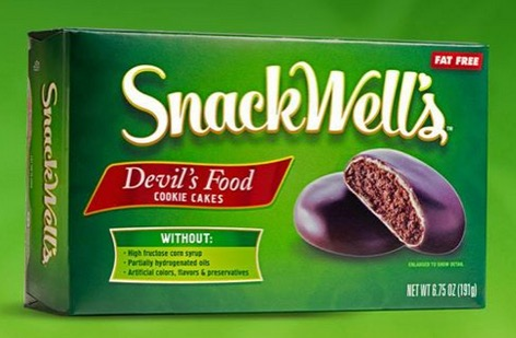 Free Full Size SnackWell's Product (fb, at  3pm ET)
