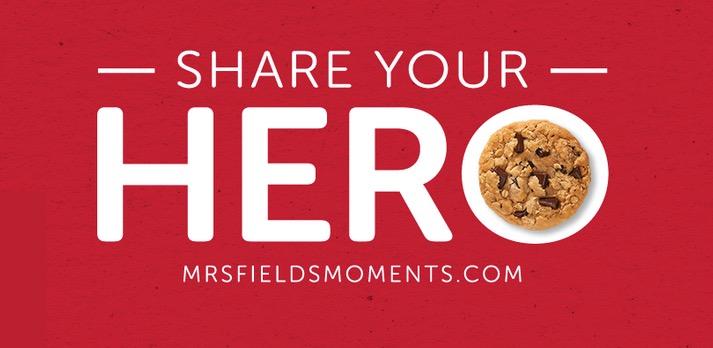 Free Mrs Fields Cookie
