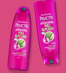 Free Garnier Fructis Full & Plush Sample Pack