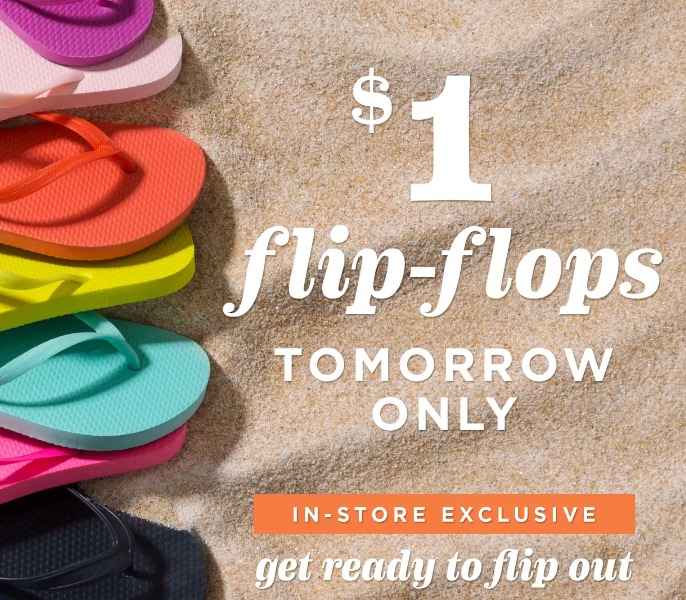 Free Flip-Flops at Old Navy Stores (6/20)