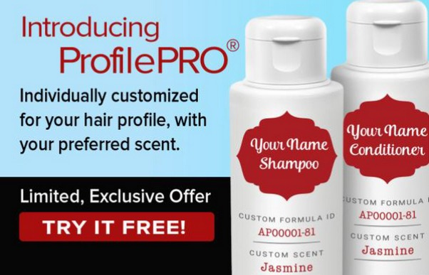 Free ProfilePro Shampoo and Conditioner (App Download)