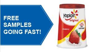 Free Yoplait Yogurt (Pillsbury Members)
