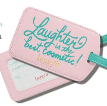Free Benefit Cosmetics Luggage Tag at Sephora Inside JCPenney