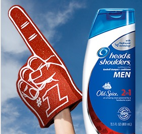 Free Head & Shoulders With Old Spice Sample