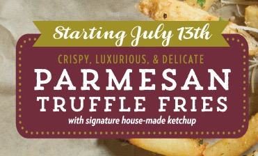 Free Parmesan Truffle Fries at Macaroni Grill