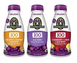 Free Sambazon 100 Juice (Apply, Mom Ambassadors)