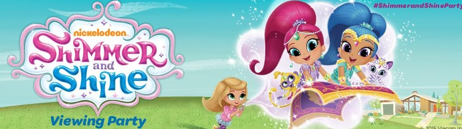 Free Shimmer & Shine Viewing Party Pack (Apply)