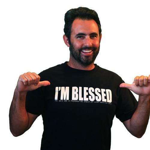 Free I'm Blessed T-Shirt