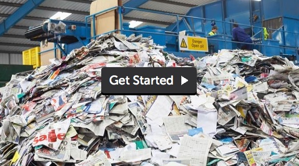 25 Free Recyclebank Points (Pre-Recycling Prep for Paper)