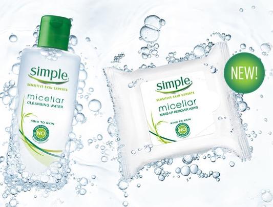 Free Simple Micellar Cleansing Water Sample