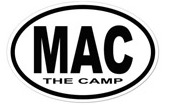 Free Camp Mac Sticker