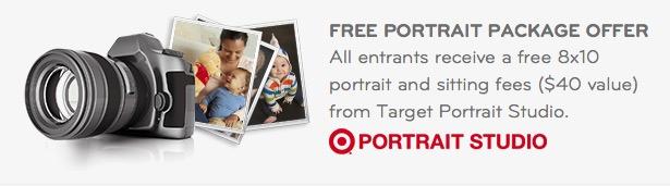 FREE 8×10 Portrait at Target