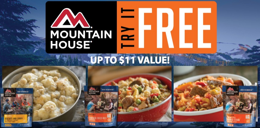 Free Mountain House Meal (Mail-in Rebate)