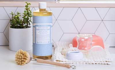 Free Dr Bronner S Baby Unscented Pure Castile Liquid Soap