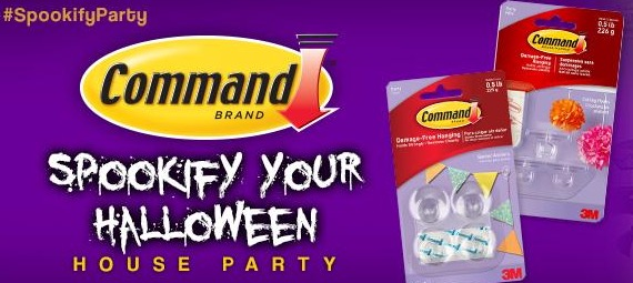 Free Command Brand Spook-Ify Your Halloween House Party Pack (Apply)