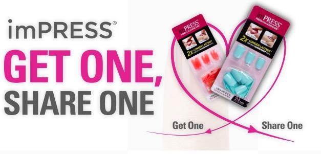 Free Sample Of ImPRESS Manicure