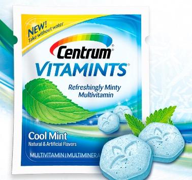 Free Centrum VitaMints Multivitamins Sample