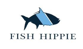 Free Fish Hippie Stickers