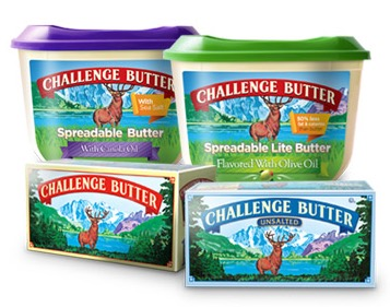 2 Free Challenge Butter Products (NC & SC Only)
