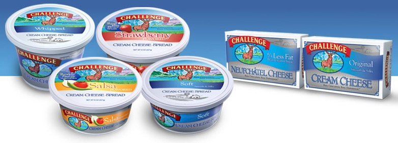 2 FREE Full-Size Packages of NEW Challenge Cream Cheese (CA Only)