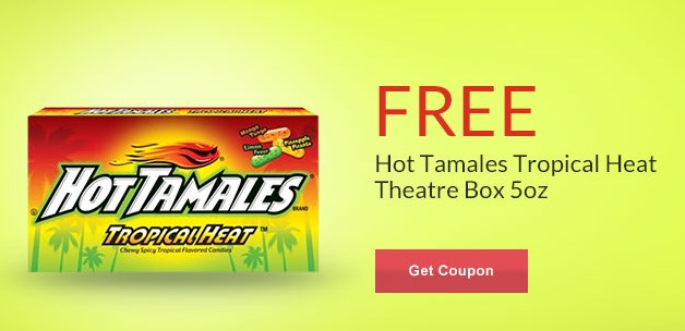 Free Hot Tamales Tropical Heat Theatre Box at Rite Aid