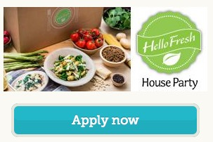 Free HelloFresh House Party Pack (Apply)